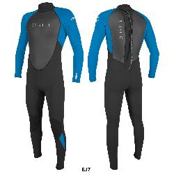 TRAJE ONEILL REACTOR-2 3/2MM BACK ZIP FULL, 0