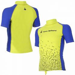 CAMISETA AQUASPHERE LYCRA BIX JUNIOR, 7