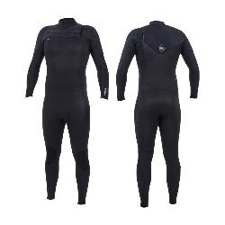 TRAJE ONEILL HYPERFREAK 5/4+MM CHEST ZIP FULL, CON CREM, 0