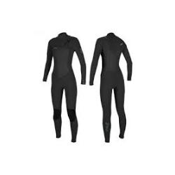 TRAJE ONEILL WMS EPIC 4/3MM CHEST ZIP FULL, CREMALLERA PECHO MUJER, 0