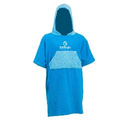 PONCHO SURFLOGIC TOALLA JUNIOR CYAN/TURQOISE, 0