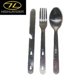 CUBIERTOS HIGHLANDER TRAVEL KFS SET