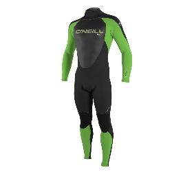 TRAJE ONEILL YOUTH EPIC 4/3MM BACK ZIP FULL, CREMALLERA ESPALDA NIÑO, 0